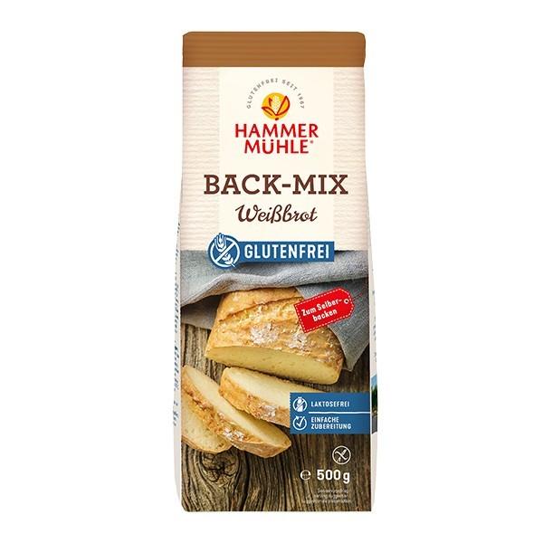 Hammermühle : Glutenfreier Back-Mix Weißbrot (500g)