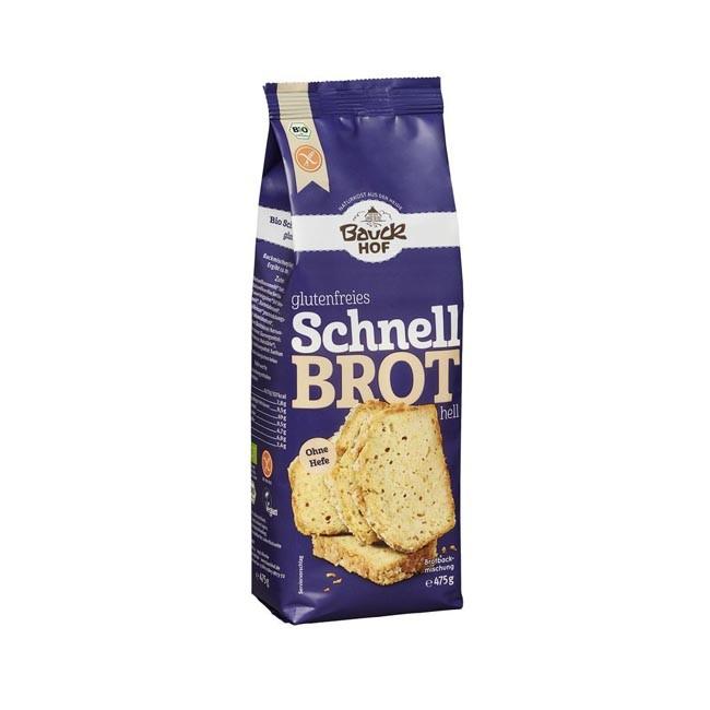 Bauckhof Bio Brotbackmischung Schnelles Helles, glutenfrei 475g