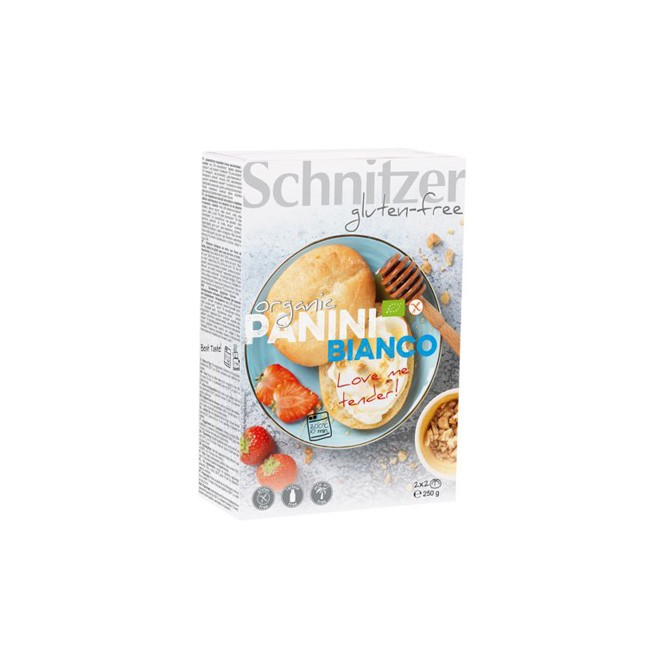 Schnitzer organic Panini Bianco 250g