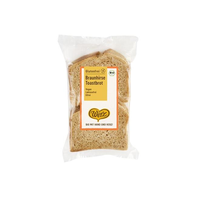 Werz: Braunhirse Toastbrot, bio (250g)