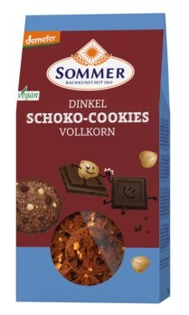 Sommer-Dinkel-Schoko-Cookies