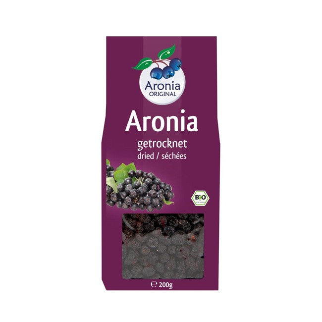 Getrocknete Bio Aroniabeeren (200g) - Aronia ORIGINAL