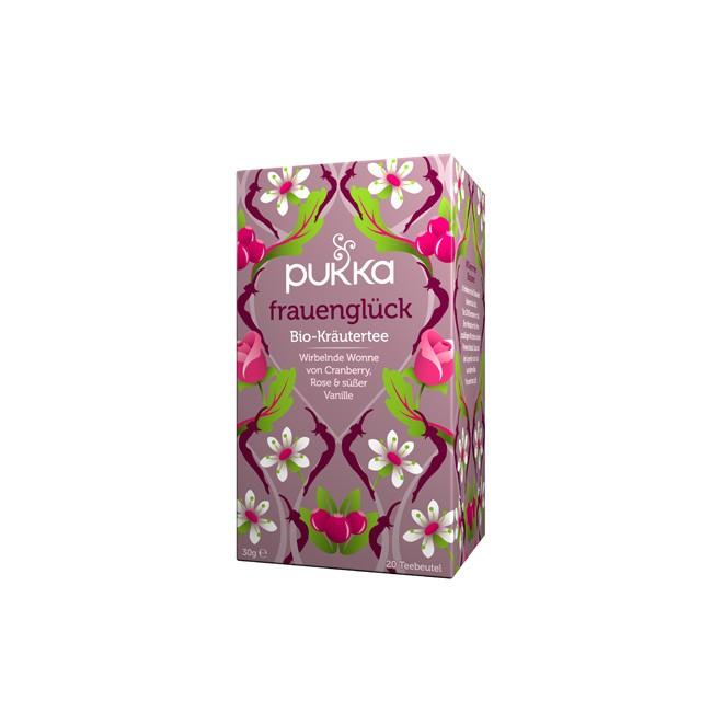Pukka Frauenglück Tee für den weiblichen Organismus mit Vanille und Shatavari