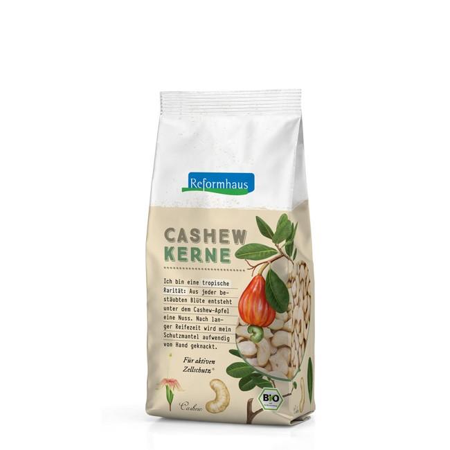 Bio Cashewkerne des Reformhaus - 300g Beutel in veganer Neuform Qualität