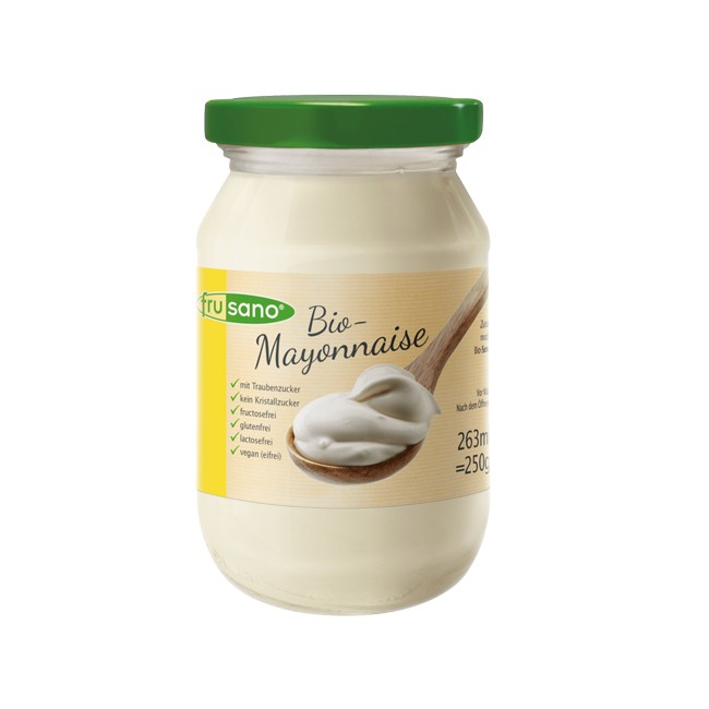 Frusano : Vegane Bio Mayo mit Dextrose (263ml)
