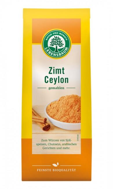 Lebensbaum : Ceylon Zimt gemahlen, bio (50g)