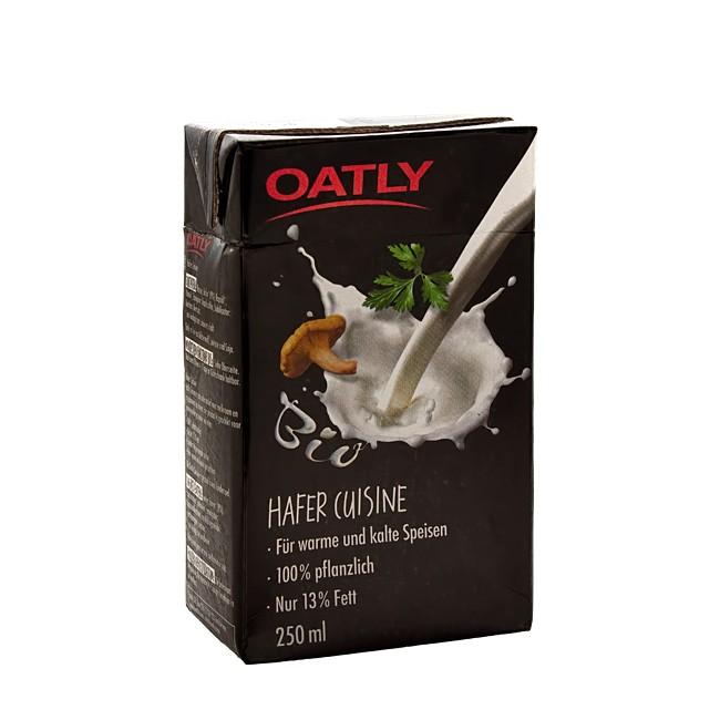 Vegane Sahne - Oatly Hafer Cuisine 250ml Sahne-Ersatz
