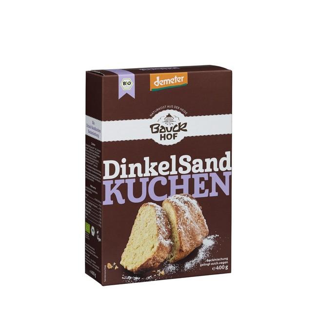 Bauckhof : Backmischung Dinkel Sandkuchen Demeter (400g)