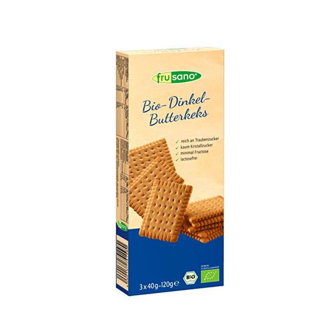 Frusano Dinkel Butterkeks Bio (3x40g)