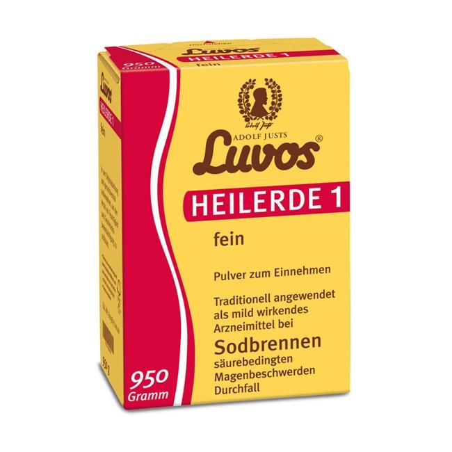 LUVOS Heilerde 1 fein gegen Sodbrennen