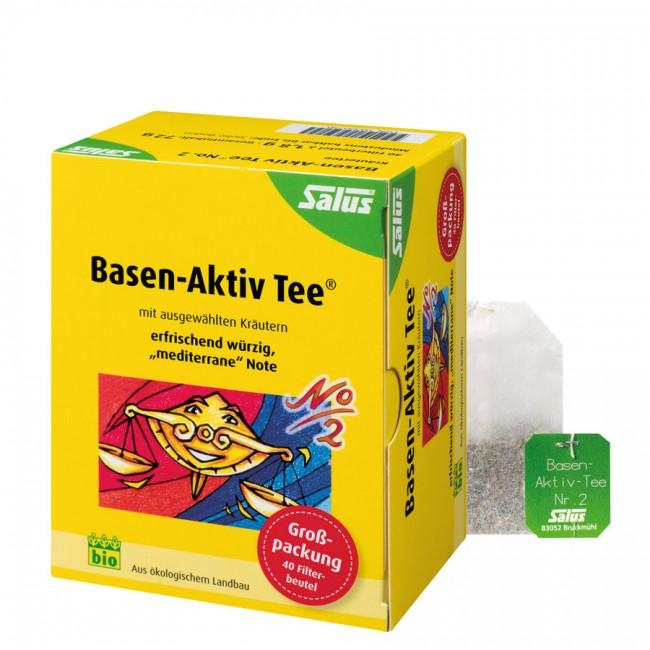 Basen Aktiv Tee mit mediterraner Note - Bio Kräutertee von Salus