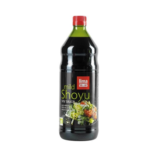 lima shoyu mild aus weizen und soja (bio) große 1l-Flasche
