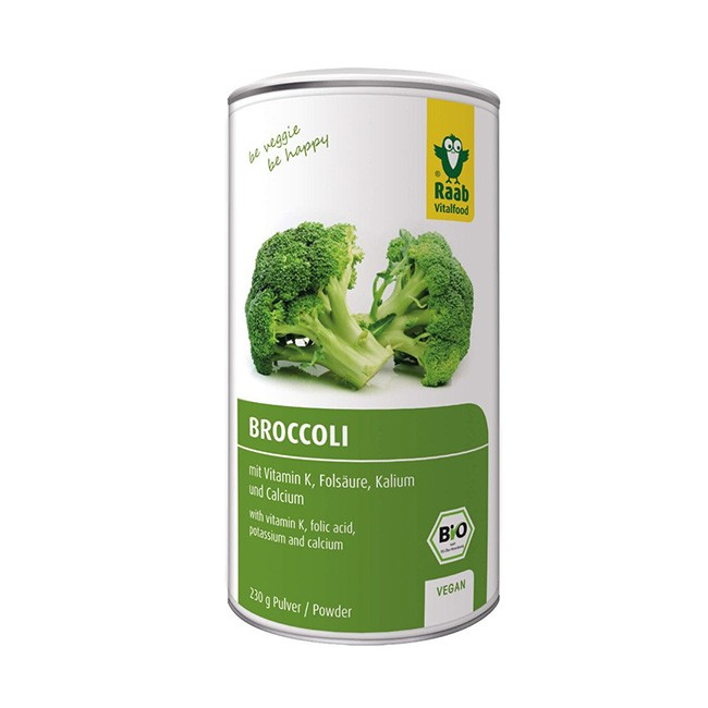 Brokkoli Smoothie Pulver von Raab Vitalfood - bio und hochwertig