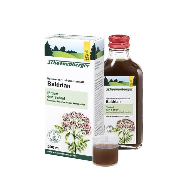Schoenenberger: Baldrian Pflanzenheilsaft (200ml), für einen schnelle Genesung