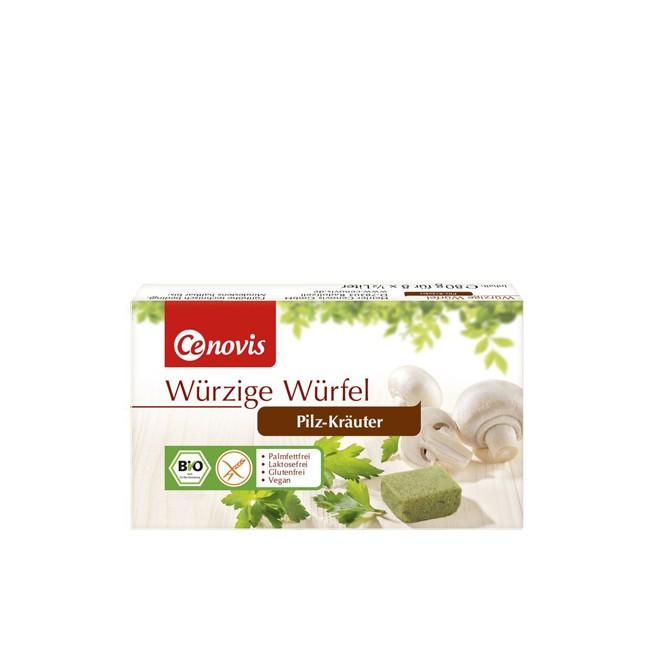 Cenovis Würziger Würfel Pilz-Kräuter, bio 80g