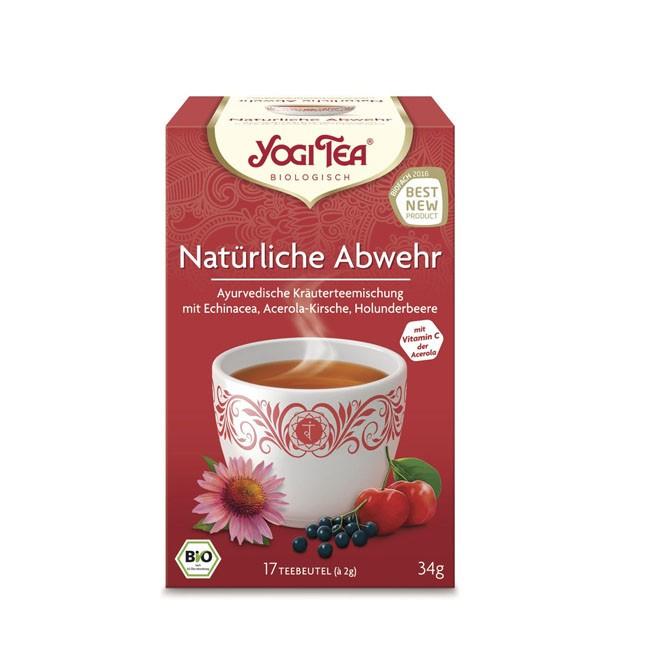 Yogi Tea Natürliche Abwehr, bio (17 Beutel)