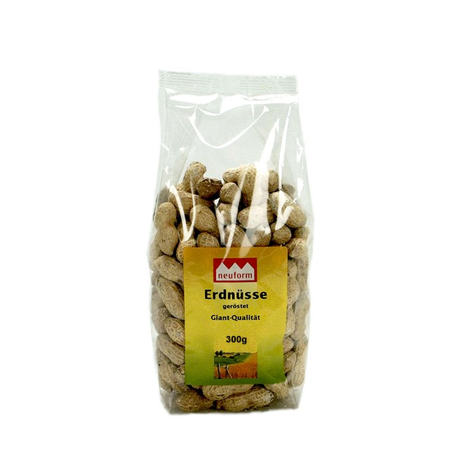 Bio Erdnüsse 300g von Lihn - Erdnüsse mit Schale