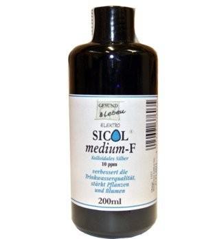 Gesund und Leben : SICOLmedium-F (10ppm) (200ml)