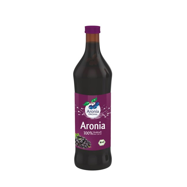 Aronia Bio Muttersaft in 0,7 Liter Flasche - Aronia ORIGINAL