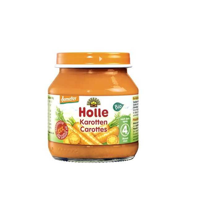 Demeter Karotten nach dem 4. Monat - Babybrei von HOLLE