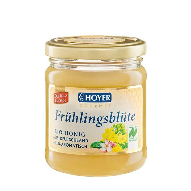 Naturland Bio Honig Frühlingsblüte von Hoyer - 250g