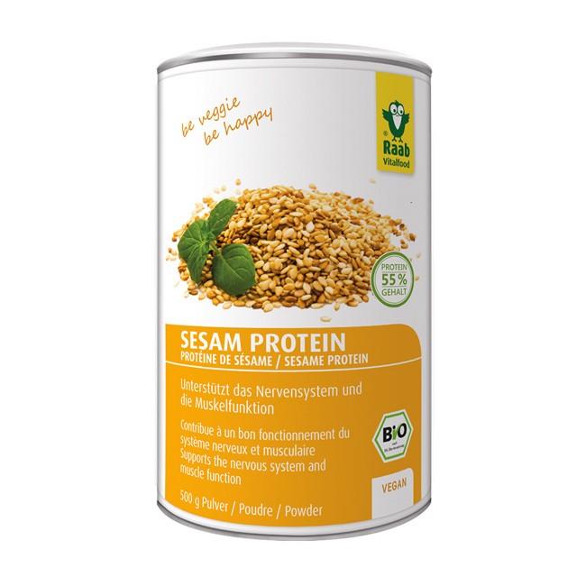 Bio Sesam Protein Pulver von Raab (500g)