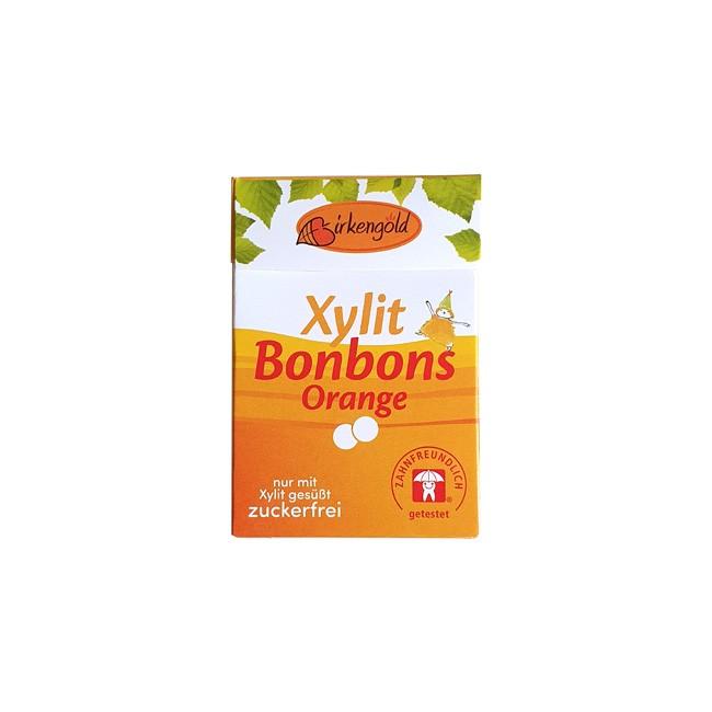 Birkengold Xylit Orange Bonbons (30g)
