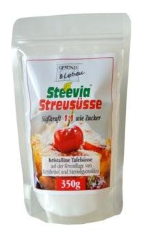"""Gesund und Leben : Steevia - Streusüße """"wie Zucker"""" im Beutel (350g)"""