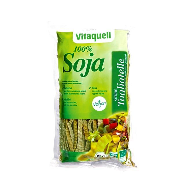 Vitaquell BIO Soja Tagliatelle 200g vegan und glutenfrei für die schnelle und vegane Küche aus grünen Sojabohnen