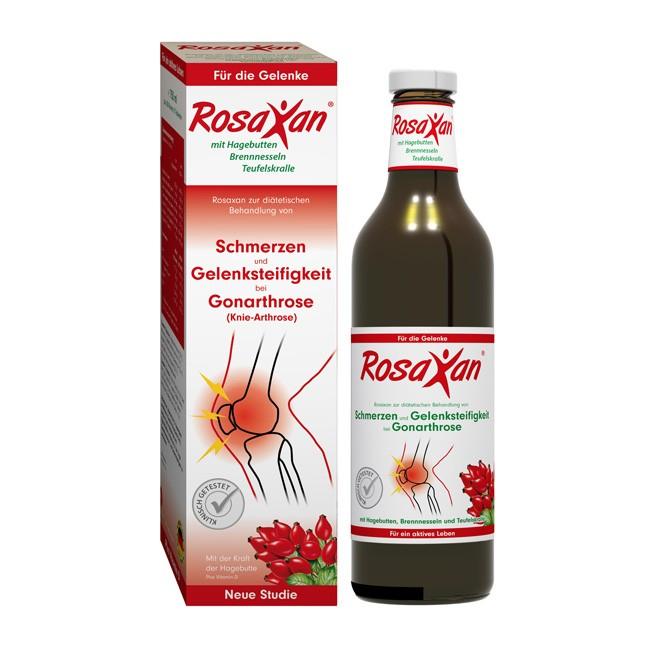 Rosaxan Saft mit Vitamin D als Pille (750ml)