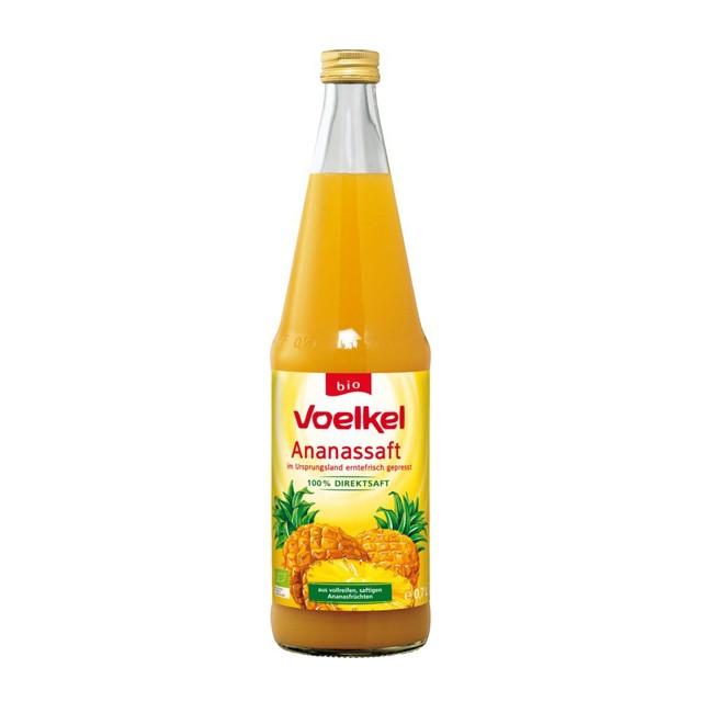 Voelkel Ananas Direktsaft, bio 0,7l
