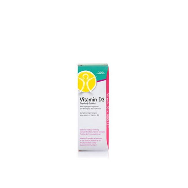 GSE Vitamin D3 Tropfen (50ml)