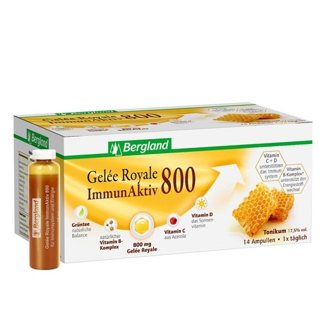 14 Ampullen Gelee Royal Immun Aktiv Kur von Bergland
