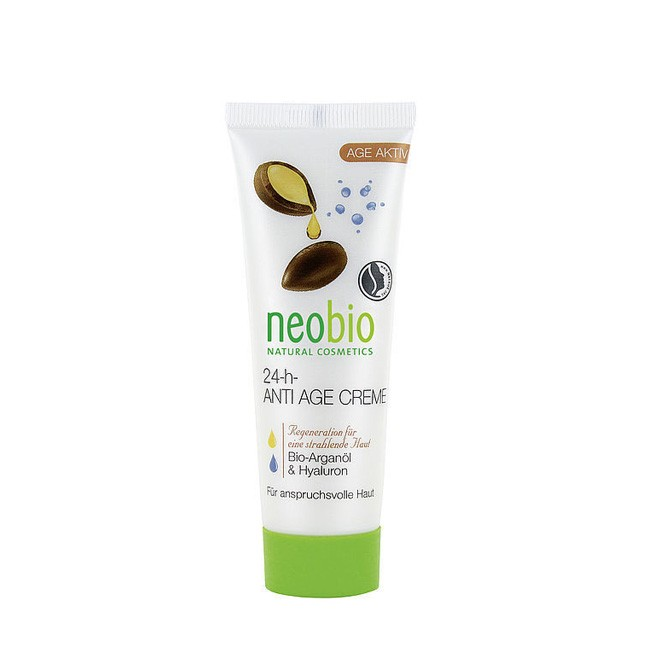 NeoBio Anti Age Creme für Tag und Nacht, 24h pflegend, vegane Kosmetik