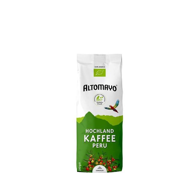 Altomayo BIO Hochlandkaffee gemahlen 250g sehr bekömmlich und magenfreundlich