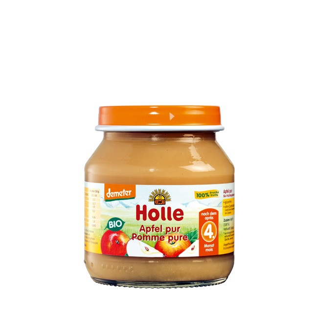 holle-apfel-pur-glas-125g
