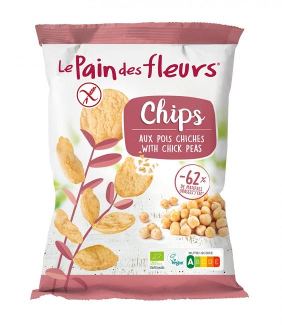 Blumenbrot : Chips Kichererbse, bio (50g)