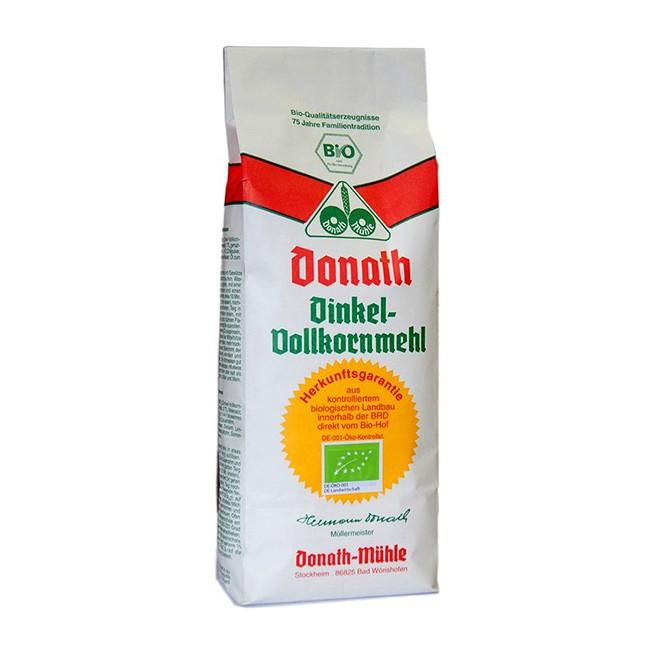Vollkorn Dinkelmehl in Bio Qualität von Donath Mühle (1kg)