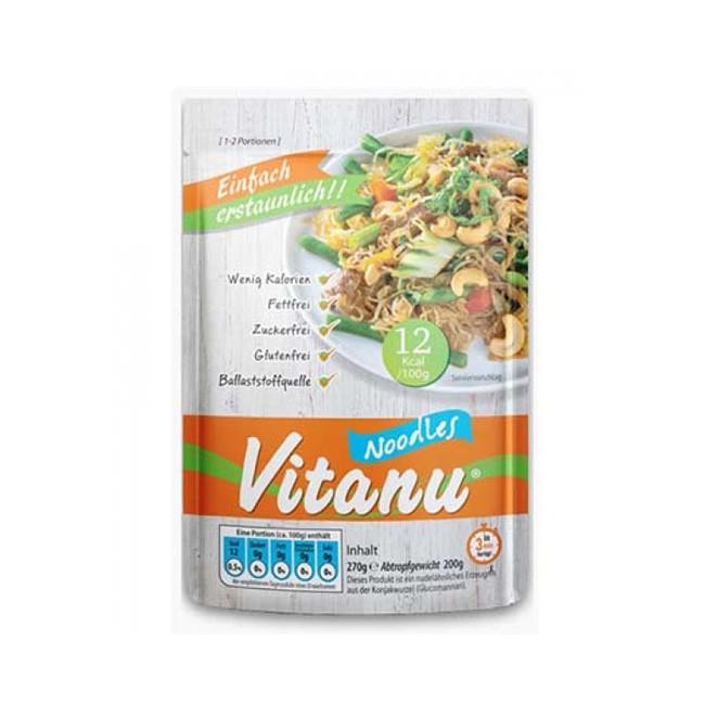 Bio und glutenfrei - Konjak Nudeln (Noodles) von Vitanu (270g)