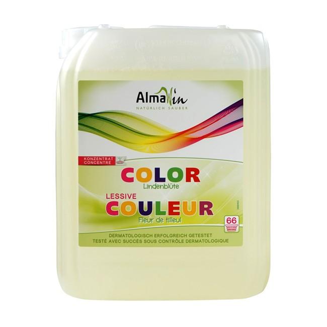 Für Großfamilien: AlmaWin Öko Waschmittel flüssig mit Lindenblüten Extrakt im 5l Kanister