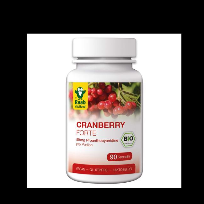 Cranberry forte kapseln 90 Stueck