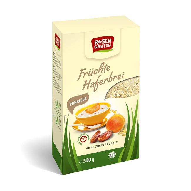 Rosengarten Früchte Haferbrei, Porridge, bio 500g