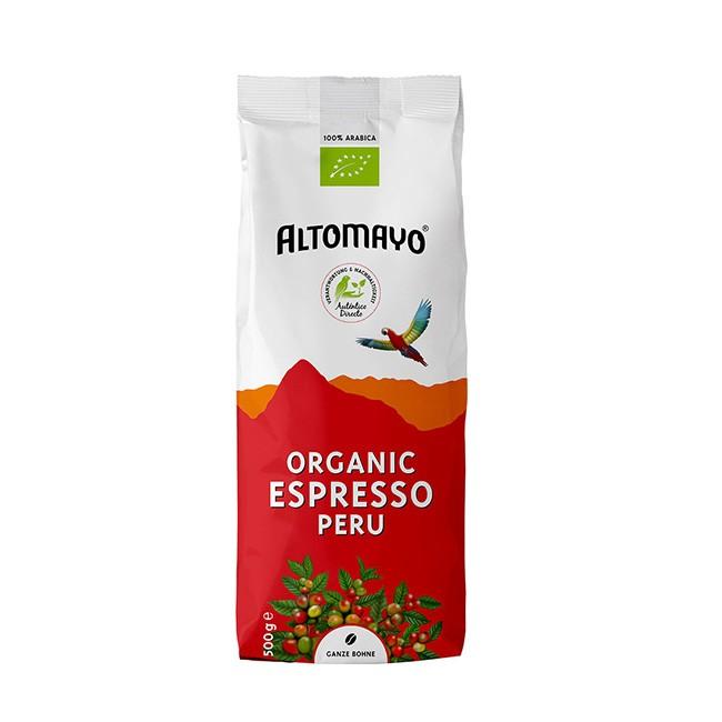 Altomayo Organic Espresso (500g) ganze Bohnen