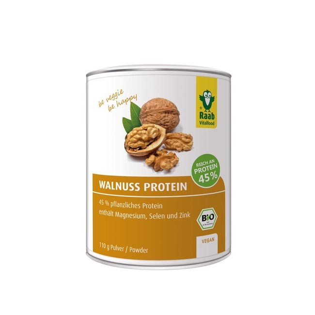 Raab. Walnuss Protein Pulver, bio (110g)