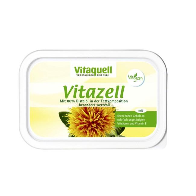Vitaquell Vitazell Pflanzenmargarine (250g) im Becher