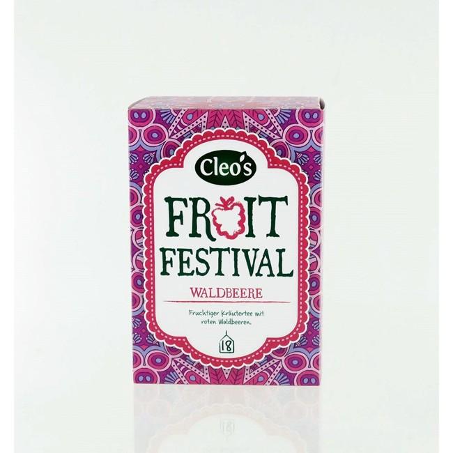 Cleo's Tee Fruit Festival biologischer Tee (18 Beutel)