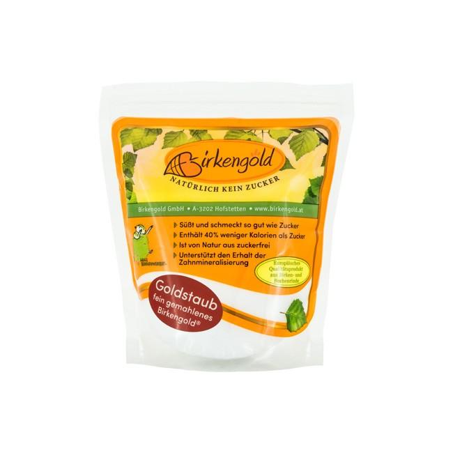 Birkengold - Bio Xylit extrafein vermahlen wie Puderzucker (350g)