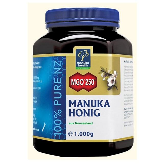 Manuka Honig 250+ im 1kg Glas von Manuka Health dem ORIGINAL aus Neuseeland