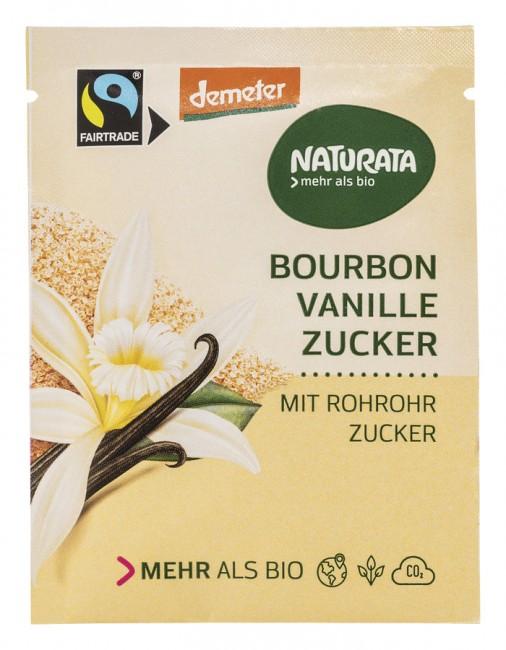 Naturata : Bourbon Vanillezucker, demeter (8g)