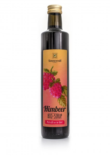 Sonnentor : Himbeer Sirup, bio (0,5l)**